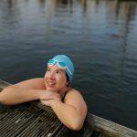 Blog Eerste koude duik over buiten koudwater zwemmen in open natuurwater.